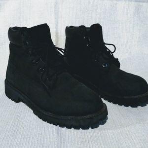 Timberland Black Boots 12907 size 4